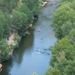 Canoe dans les Gorges du Tarn à Sainte Enimie