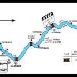 Parcours canoe gorges du tarn