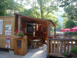 Restaurant, snack au Camping des Gorges du Tarn - Sainte Enimine